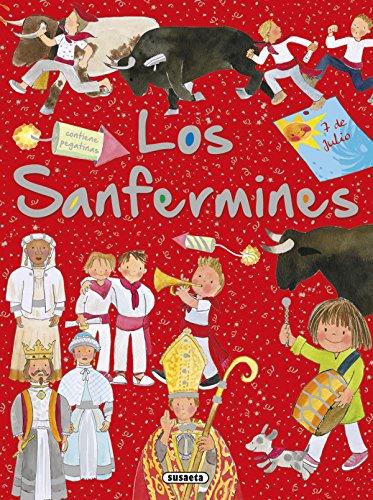 Los Sanfermines con pegatinas (Tradiciones con pegatinas)