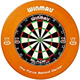 [page_title]-Winmau Dartboard Blade 5 Tunierdartscheibe mit Winmau Surround (Orange)