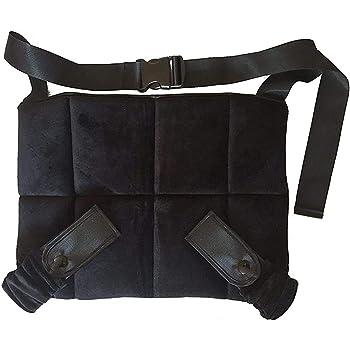 Pinji Coj/ín de Asiento con Cintur/ón Ajustable para Mam/á Evitando el Riesgo para Proteger al Beb/é Azul Cintur/ón para Embarazada de Seguridad para Coche