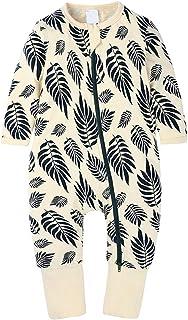 Aiweijia Newborn Baby Fashion Zipper Long Sleeve Printing Pattern Autumn Winter Rompers Jumpsuit