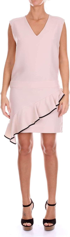8Pm Women's D8PM81A64PINK Pink Viscose Dress
