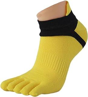 Calcetines 1 par de Hombres Malla meias Deportes con Cinco Dedos Calcetines Dedo del pie Calcetines Hombre calcetín para Hombre Socks Hombre Five Finger Toe Socks