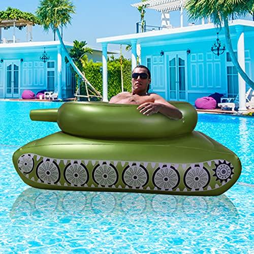 HBDY Flotador inflable gigante para piscina, para verano, fiesta, playa, playa, flotante, para adultos, niños, 160 x 115 x 60 cm