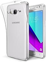 ELECTRÓNICA REY Funda Carcasa Gel Transparente para Samsung Galaxy Grand Prime 2016 / J2 Prime/Grand Prime Plus, Ultra Fina 0,33mm, Silicona TPU de Alta Resistencia y Flexibilidad