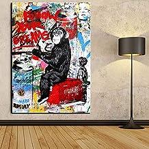 Faicai Art Banksy Graffiti Street Art Canvas Paintings Wall Art Batman Shutterstock Pop Art Prints Posters Modern Home Dec...