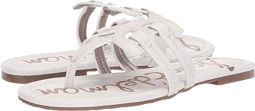 Bright White Atanado Leather