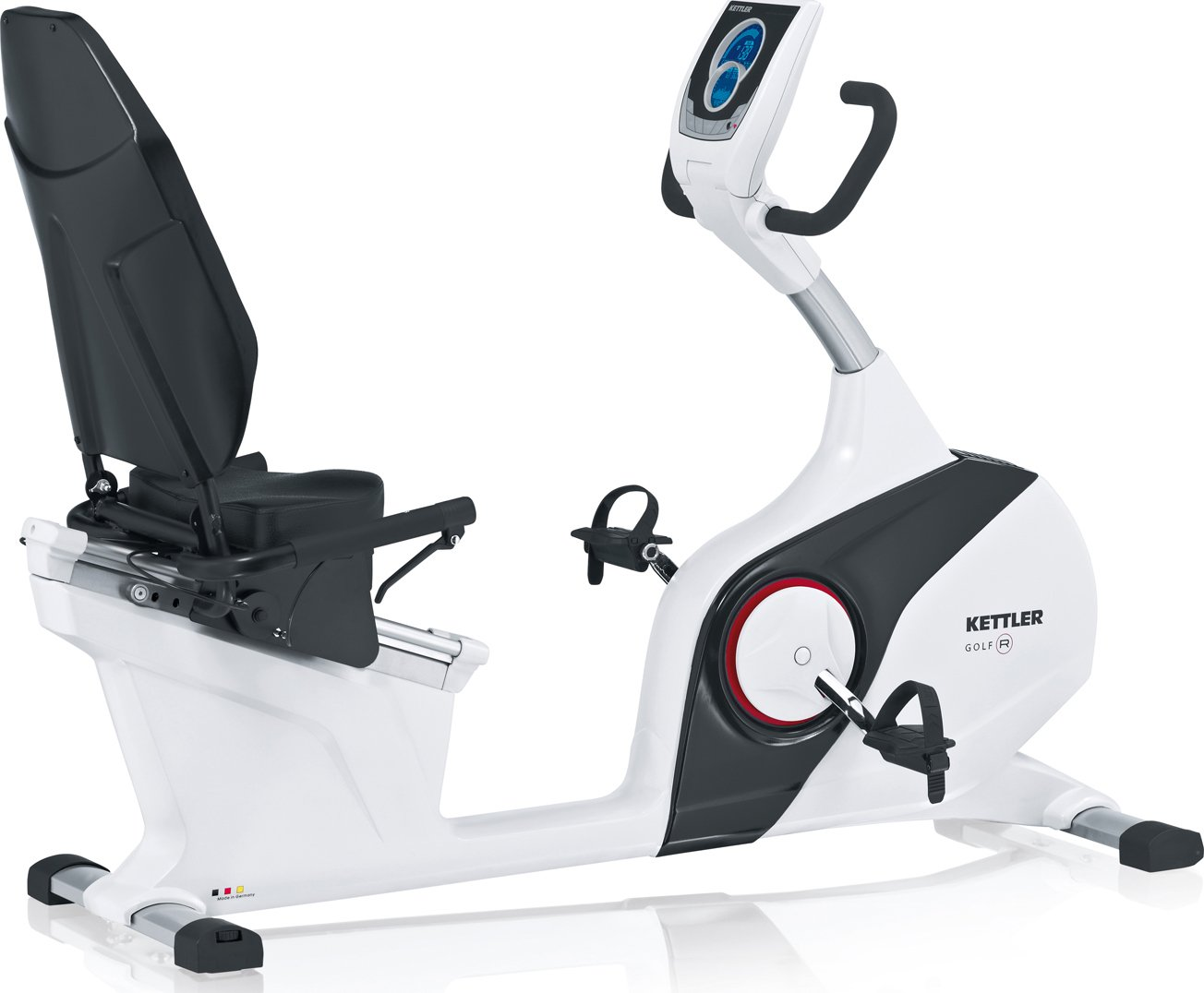 Kettler Basic Golf R - Bicicleta Estática Reclinable: Amazon.es ...