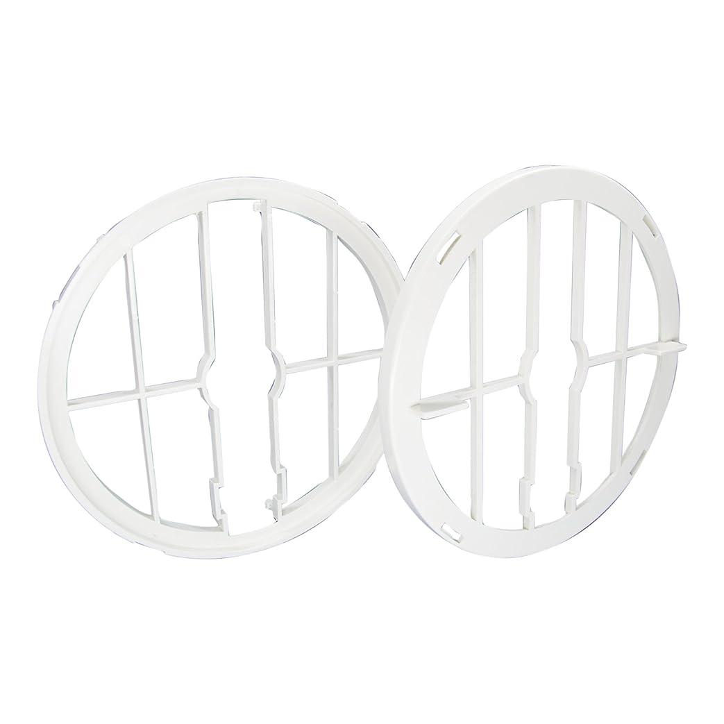 白菜勇敢な表向き大建プラスチックス 取付枠?押え枠セット 丸型?角型差圧式用 W-150SAZM