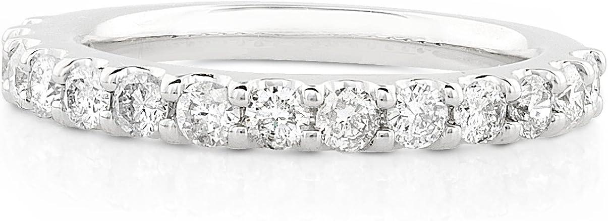 Kobelli Diamond Wedding Band 3/4 carat (ctw) in 14K White Gold