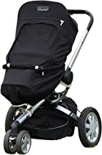 SnoozeShade Plus - Baby Sunshade and Blackout Blind for prams and Strollers (Blocks up to 99% UV)