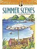 Creative Haven Summer Scenes Coloring Book (Creative Haven Coloring Books)
