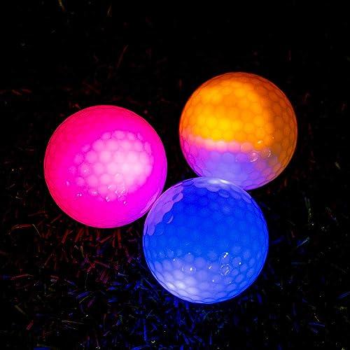 THIODOON Glow Golf Balls Led Golf Balls