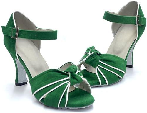 WYMNAME femmes Chaussures de Danse Latine,Chaussures de Danse Moderne Chaussures de Danse Talons Hauts Sandale