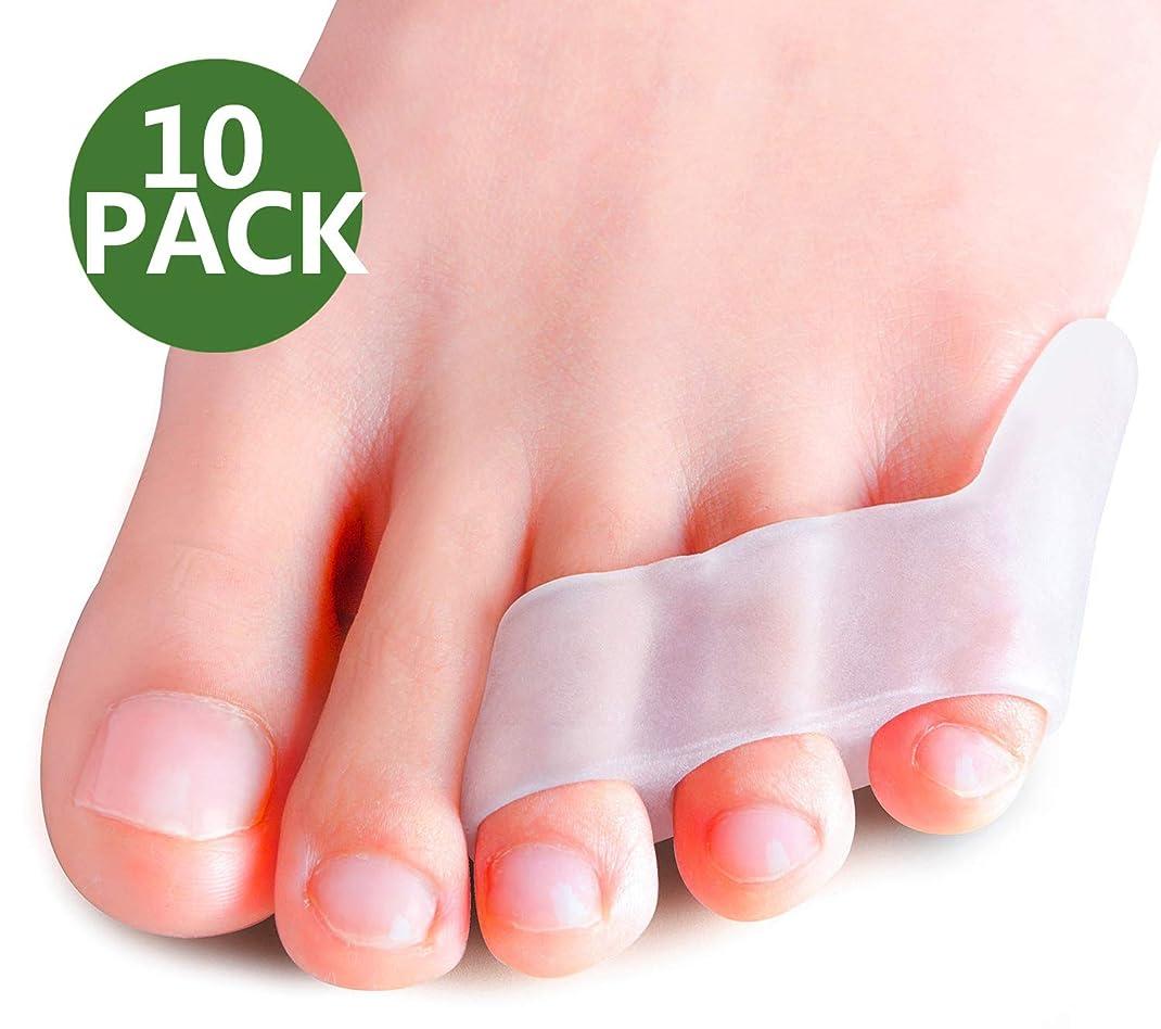 幅信仰ラテンPovihome 10X 足の小指 サポーター,足の小指保護
