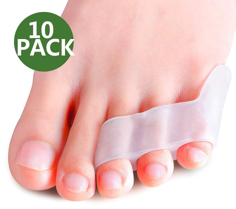 指標不規則性おびえたPovihome 10X 足の小指 サポーター,足の小指保護