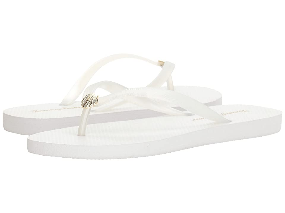 Tommy Bahama Whykiki Flat Solid (White 2) Women