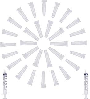 Lote de 30 pintalabios de 10 ml y 15 ml de Nachfüllbare Leere Kosmetiktuben transparente Lippenbalsambehälter für frauen M...