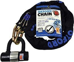 Black Oxford Unisexs GP Chain8 1.2m X 8mm-Round