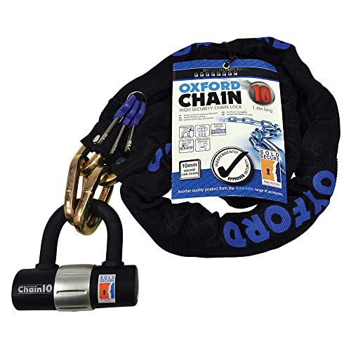 MAMMOTH SECURITY 10mm LOCK CHAIN FARM GATES MACHINERY 1.8M *NEXT DAY DELIVERY*