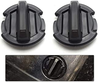 BUNKER INDUST 2 Pcs Twist Floor Drain Plug Trap Seal for 2014/2015/2016/2017 Polaris RZR XP 1000 900 XP 4 Turbo 8414694