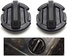 BUNKER INDUST 2 Pcs Twist Floor Drain Plug Trap Seal for 2014/2015/2016/2017 Polaris RZR XP 1000 900 XP 4 Turbo 8414694