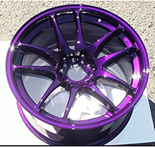 candy purple powder coat