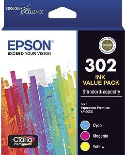 Epson (302) C13T01WB92 Genuine 3 Colour Ink Cartridge Value Pack