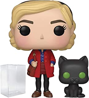 Funko TV: The Chilling Adventures of Sabrina - Sabrina Spellman with Salem Pop! Vinyl Figure (Includes Compatible Pop Box Protector Case)