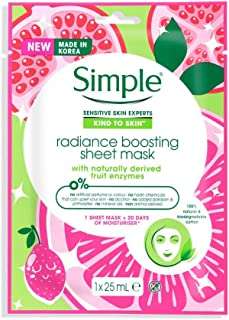 Simple Face Mask Radiance boosting 21ml