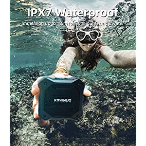 Shower Speaker – Kayinuo IPX7 Waterproof Bluetooth Speaker, Portable Bluetooth Speaker with Enhanced Bass and Built-in…