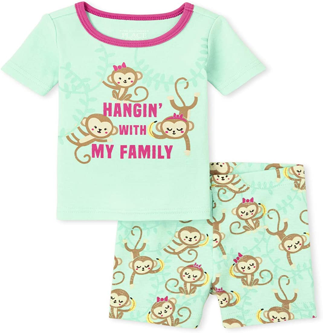 The Children's Place Baby Girls' Two Piece Pajama Set