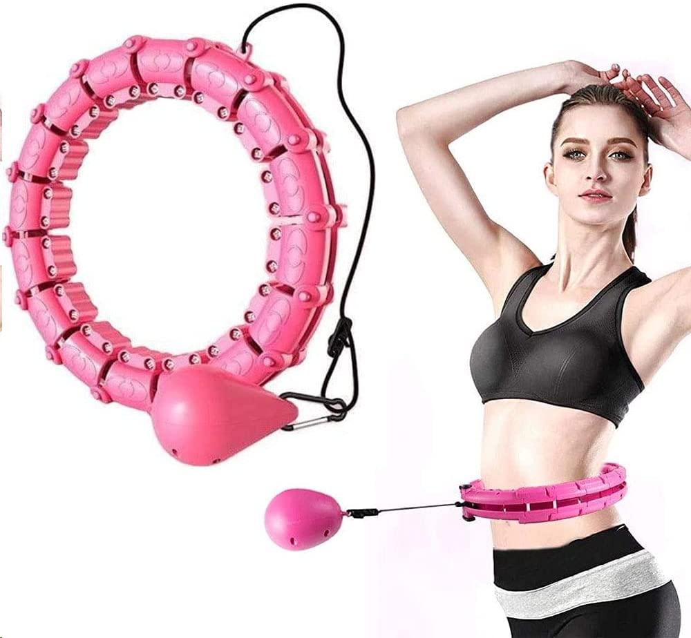 24-Section Smart Hula Hoop Adjustable Max 42% OFF Wide H Miami Mall Intelligently