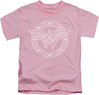 Dc - Little Boys Tattered Emblem T-Shirt