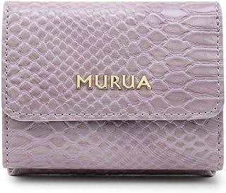 MURUA (ムルーア) 口金ミニ財布 クロコ MR-W753