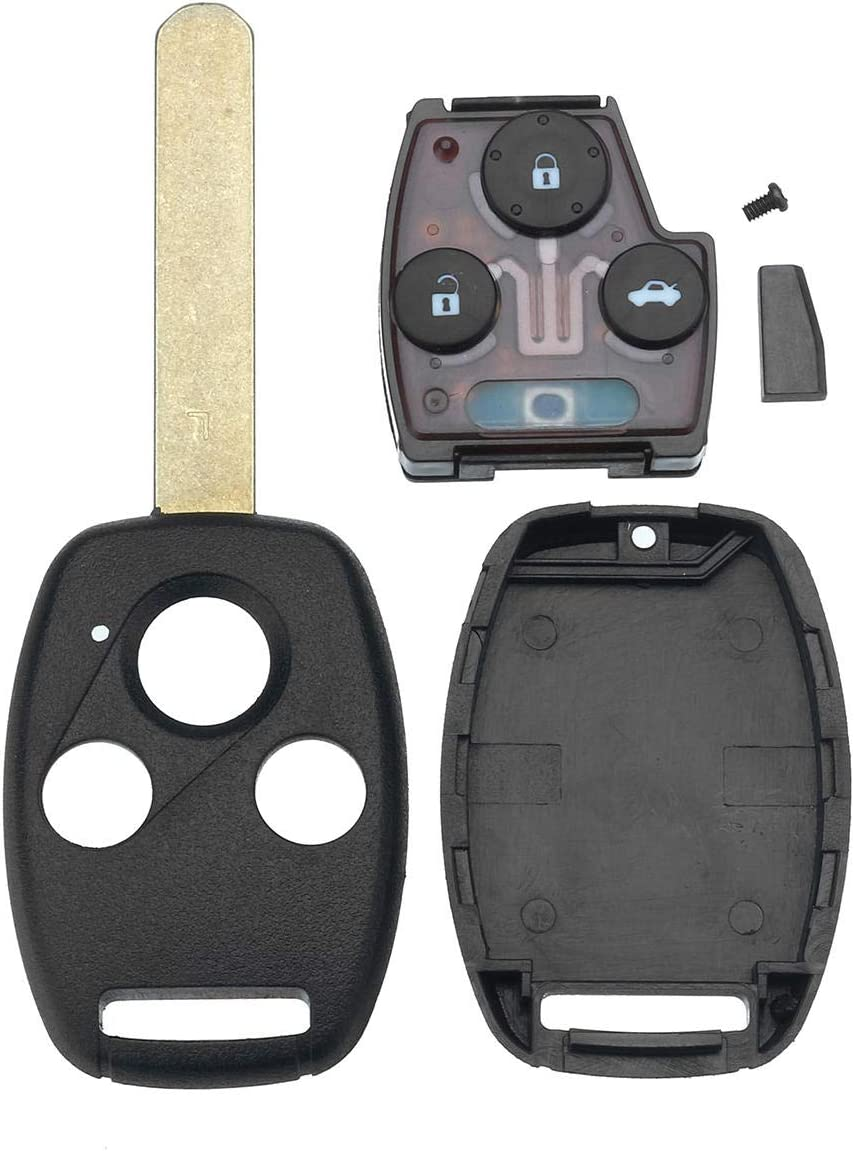 MNAD Car 3 Button Surprise price Distant Key Fob Ac with 313.8Mhz ID46 Direct store Chip for