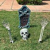 "Halloween Skeleton Stakes with 17""..."