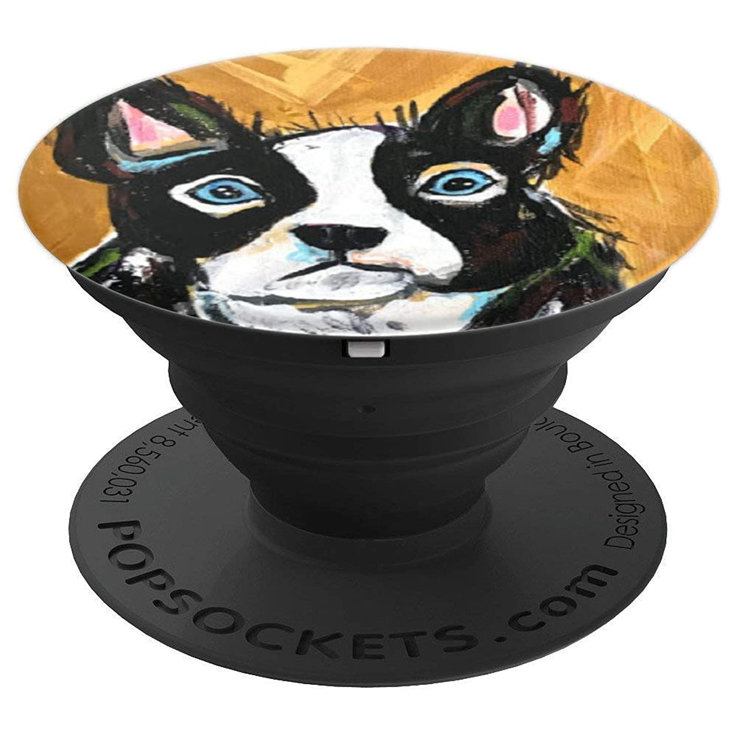 Mario Boston Terrier - PopSockets Grip and Stand for Phones and Tablets