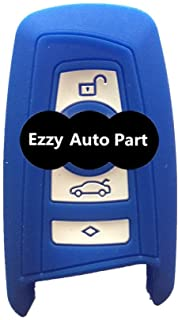 New Navy Blue Key Fob Skin Covers replacement for Bmw 128i 328i 328i Xdrive 335i 335i Xdrive 650i Fob