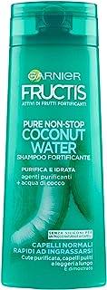 Garnier Fresh Shampoo Fortificante, Capelli Normali, Rapidi ad Ingrassarsi, 250ml