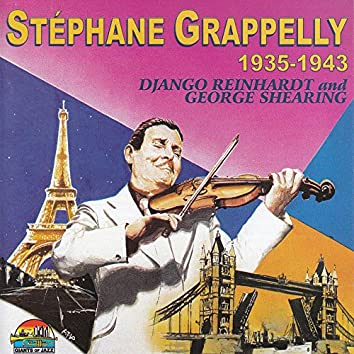Stéphane Grappelly, Django Reinhardt And George Shearing