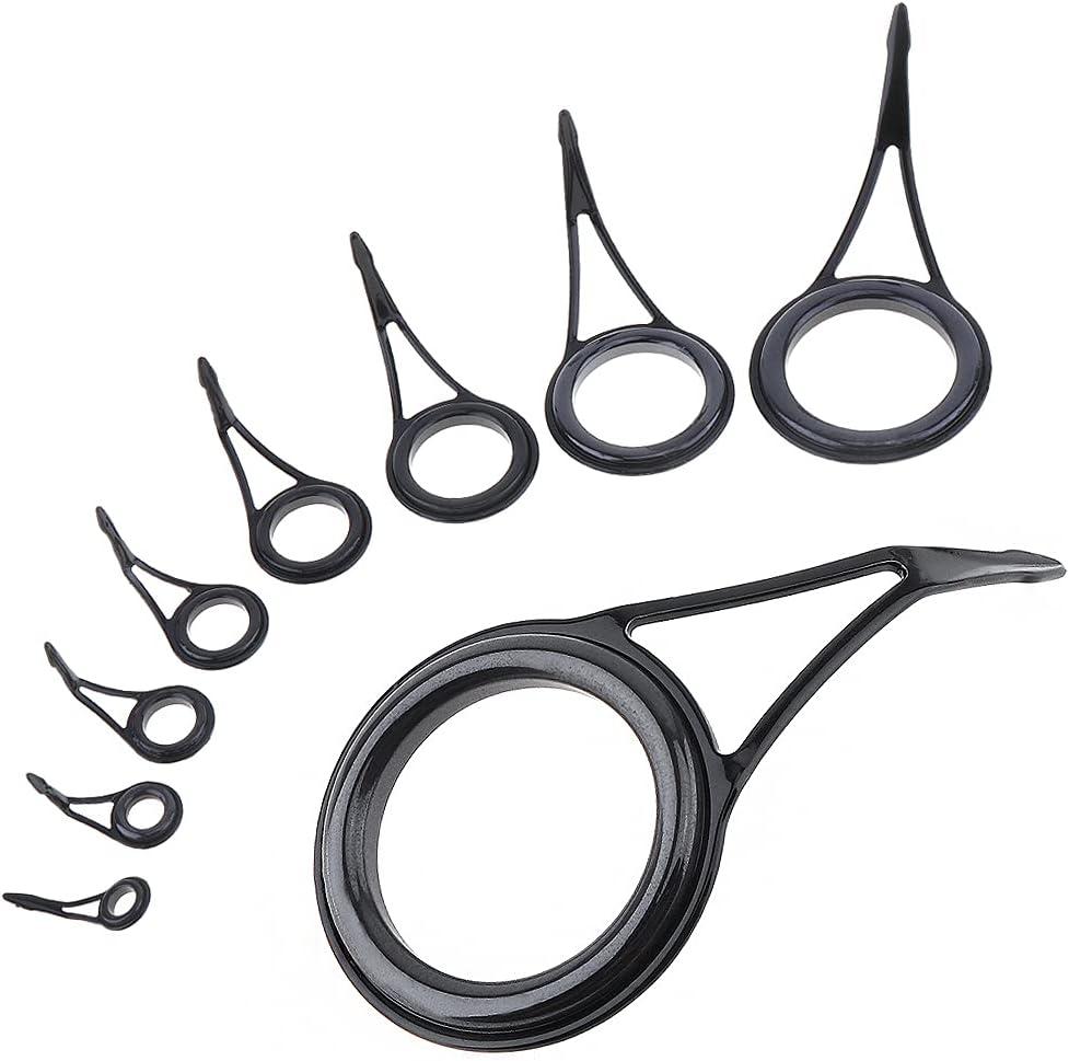 OriGlam Luxury Fishing Rod Guides Sets Kit Re Repair Rare Guide Tip