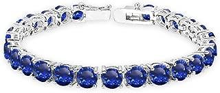 Best blue sapphire silver bracelet Reviews