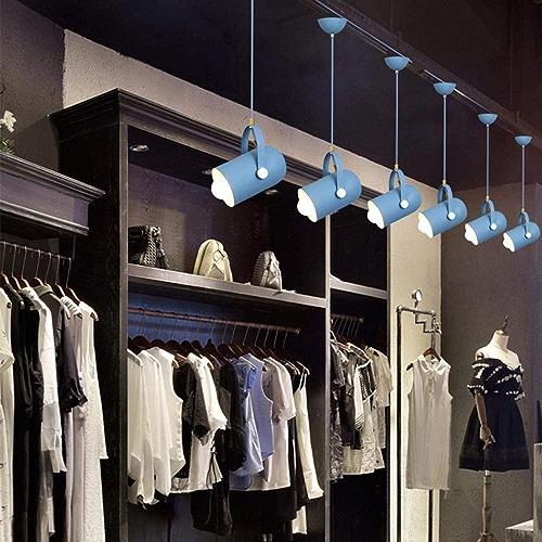 Lumière moderne LED en aluminium pendentif lumières salon restaurant café bar vêteHommests Showroom éclairage lampes suspendues luminaire, blanc
