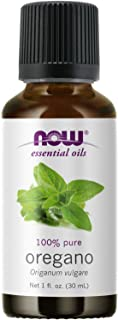 NOW Essential Oils, Oregano Oil, Comforting Aromatherapy Scent, Steam Distilled, 100% Pure, Vegan, Child Resistant Cap, 1-...