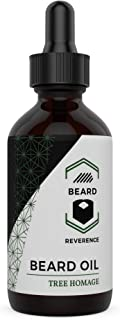 Eucalyptus Beard Oil - Large 2oz Size – Made with All-Natural and Organic Argan & Jojoba Oils for Healthy Beard and Mustache Growth – Leave-in Conditioner to Soften, Strengthen & Hydrate Beards