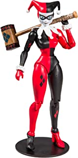 McFarlane Toys DC Multiverse Harley Quinn: Classic Action Figure, Multicolor
