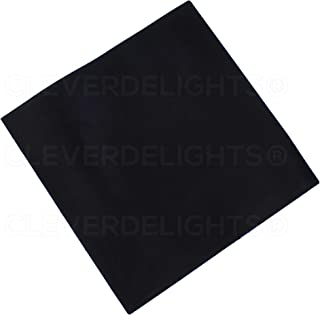 CleverDelights Solid Rubber Sheet - 12