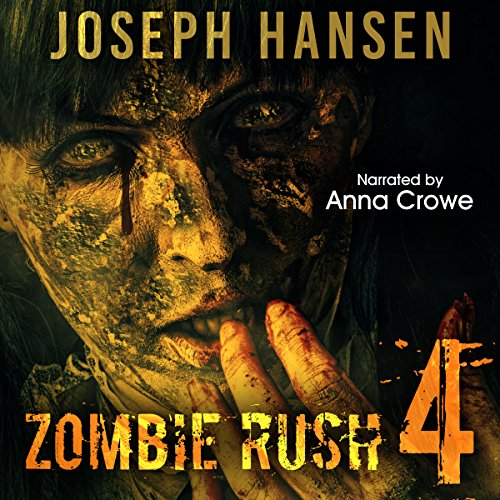 Zombie Rush 4: Banished From Hell audiobook cover art
