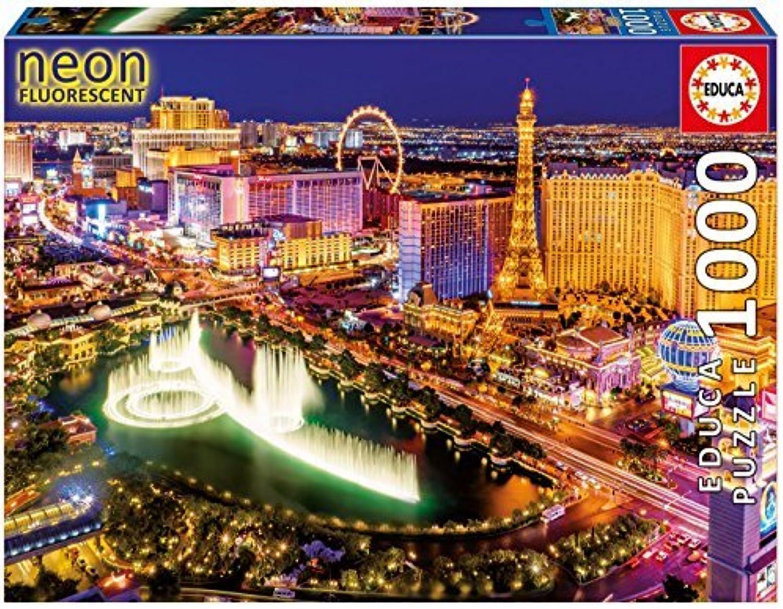 Educa 16761 - Las Vegas - 1000 pieces - Neon Puzzle by Educa