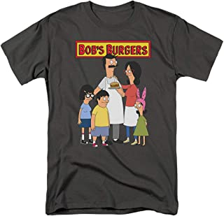 Bob's Burgers Bob and Family T Shirt & Exclusive Stickers